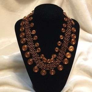 Fredda Levine Handmade Copper Necklace